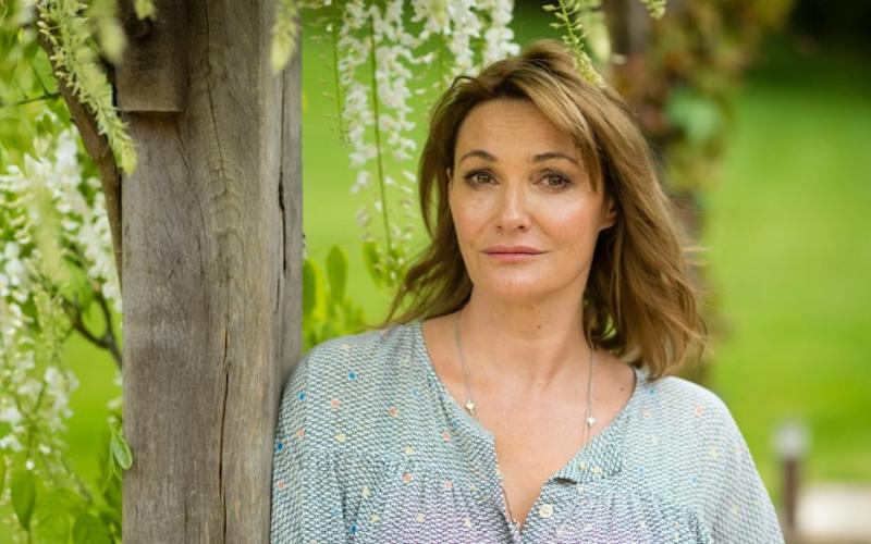 Sarah Parish admitted to a non-surgical face-lift claiming crews found her difficult to light  - Credit: Andrew Crowley