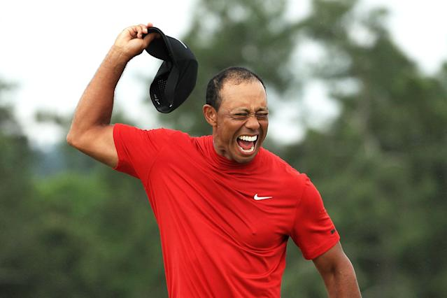 Tiger Woods ended a near 11-year wait for a major win. (Credit: Getty Images)