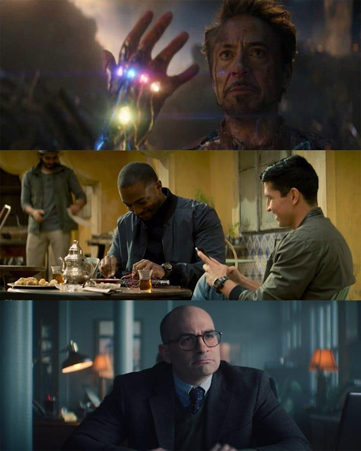 the falcon and the winter soldier 101 detail tony stark mentions