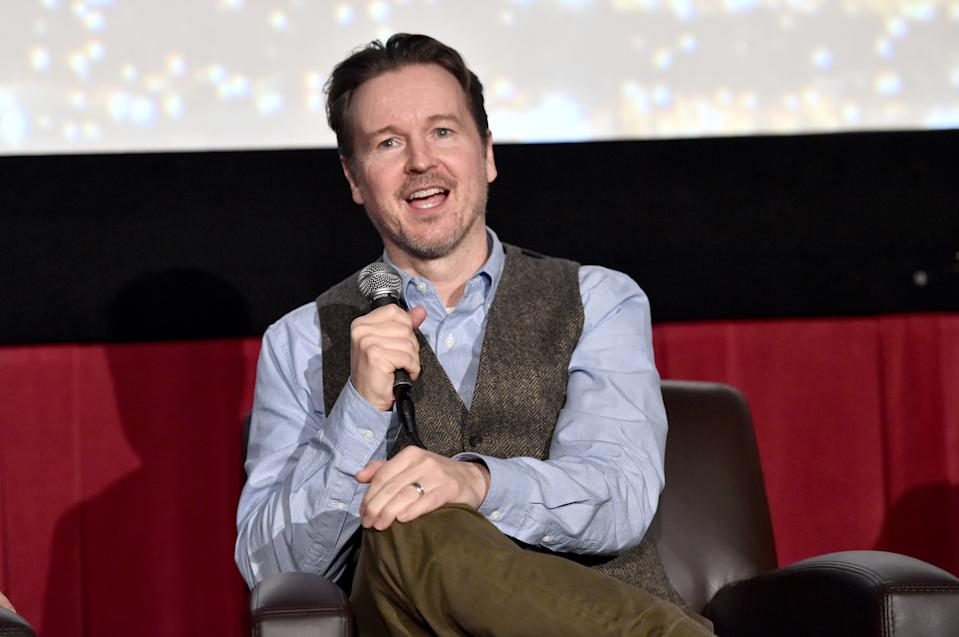 "HOLLYWOOD, CA - NOVEMBER 12:  Matt Reeves speaks onstage during ""On Acting: Andy Serkis"" at AFI FEST 2017 Presented By Audi at TCL Chinese 6 Theatres on November 12, 2017 in Hollywood, California.  (Photo by Alberto E. Rodriguez/Getty Images for AFI)"