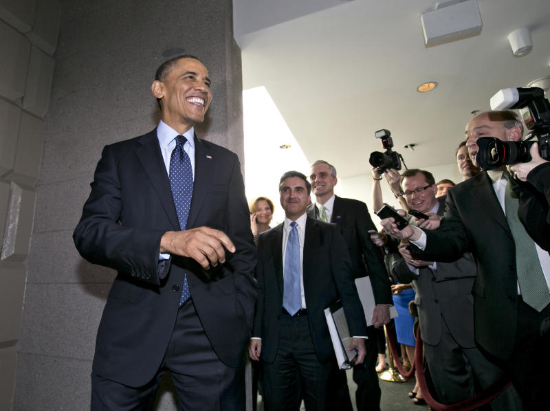 Obama says immigration bill would help House GOP