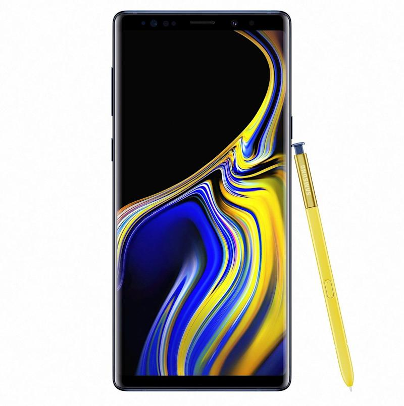 Samsung's Galaxy Note 9 is a big-screen behemoth with plenty of power. (image: Samsung)