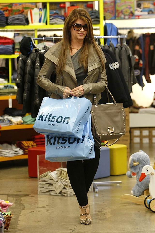 Jackpot! It looks like Kirstie had some success inside the store. But was it all for her or did she get some holiday shopping done?  (12/5/2011)