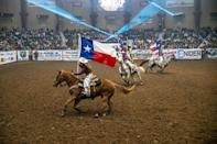 The US state of Texas juggles its image as a cowboy and ranching frontier with its embrace of high-tech renewable wind energy