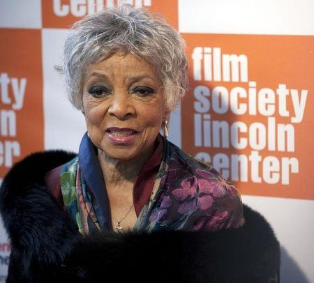 Actress Ruby Dee arrives at The Film Society's Annual Gala Presentation of the 38th Annual Chaplin Award honoring award-winning actor Sidney Poitier in New York