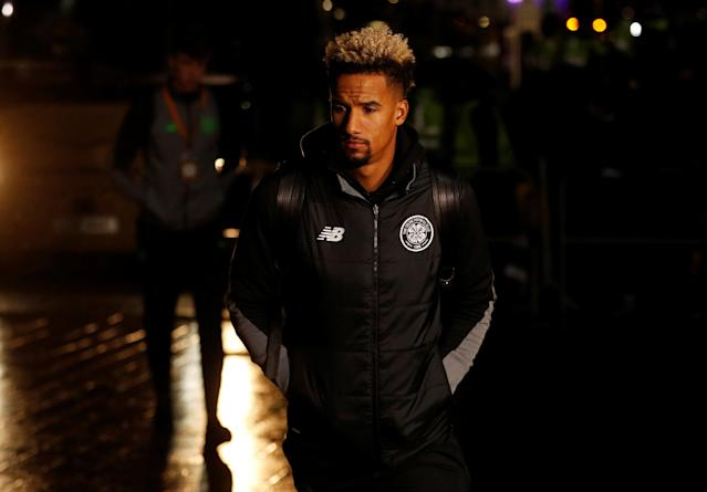 Soccer Football - Europa League Round of 32 First Leg - Celtic vs Zenit Saint Petersburg - Celtic Park, Glasgow, Britain - February 15, 2018 Celtic's Scott Sinclair before the match Action Images via Reuters/Lee Smith