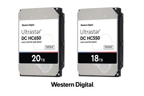 Western Digital Builds on Data Center Leadership to Deliver 18TB CMR and 20TB SMR HDDs in the First Half of 2020