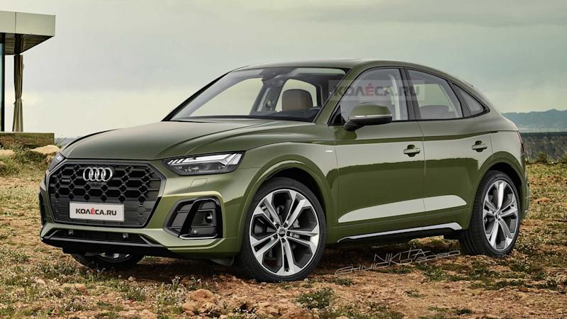 2021 Audi Q5 Sportback Adds Style, Loses Practicality In ...