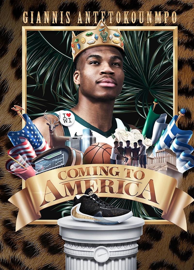 Nike to release Coming to America-inspired shoes with NBA star Giannis Antetokounmpo