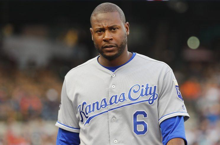 Lorenzo Cain could be on the move if the Royals decide to sell. (AP)