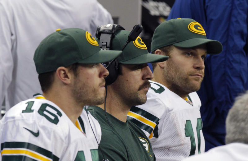 Rodgers limited as QB questions linger for Packers