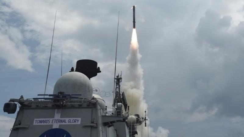 In a First, Navy Test-Fires Land-Attack BrahMos Supersonic Missile