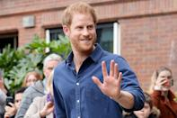 """<p>""""Being in the prince role, you've gotta shake hands. I would choose hugging over shaking hands most of the time ... with people that I know, just before anyone gets any ideas."""" </p> <p>—on <em><a href=""""https://www.youtube.com/watch?v=6P22dPnhG0s"""" rel=""""nofollow noopener"""" target=""""_blank"""" data-ylk=""""slk:Good Morning America"""" class=""""link rapid-noclick-resp"""">Good Morning America</a> </em>in 2016</p>"""