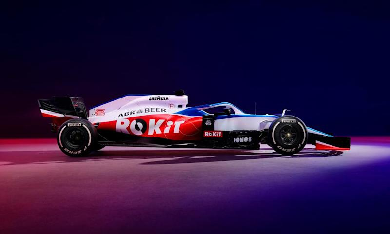 The Williams FW 43 is an evolution of the 2019 version.