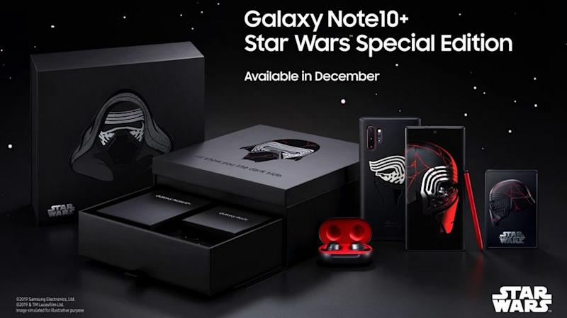 Samsung announces Star Wars Edition Galaxy Note 10 Plus, priced at $1,300