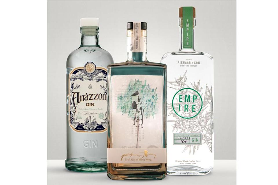 Craft Gin Club World Gins bundle