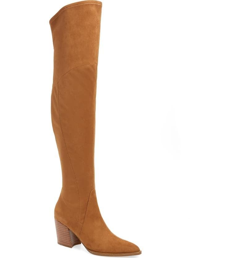 <p><span>Marc Fisher LTD. Cathi Pointed Toe Over the Knee Boots</span> ($150, originally $239)</p>