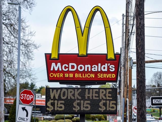 A McDonald's in Illinois is so desperate for staff that it's giving away iPhones to new recruits if they stay for 6 months