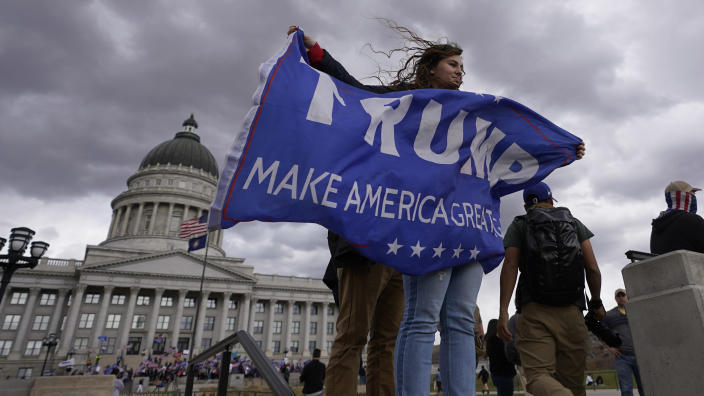 Supporters of Donald Trump