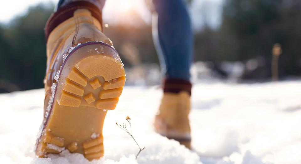 Winter boots are an essential for men and women to make braving the elements that little better.  (Getty Images)