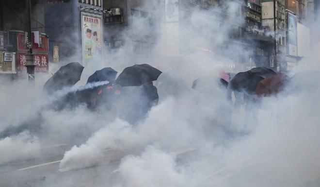Anti-government protests have gripped Hong Kong since June. Photo: Edmond So