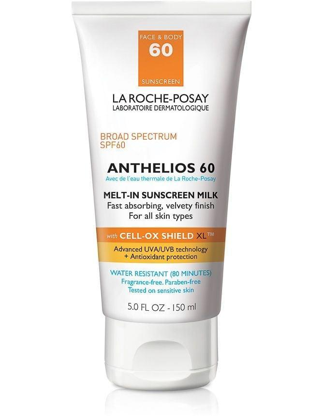 <p><span>La Roche-Posay Anthelios 60 Melt-In Sunscreen Milk</span> ($36) dries super fast and is made with an antioxidant complex that fights against UV-ray-caused free radicals.</p>