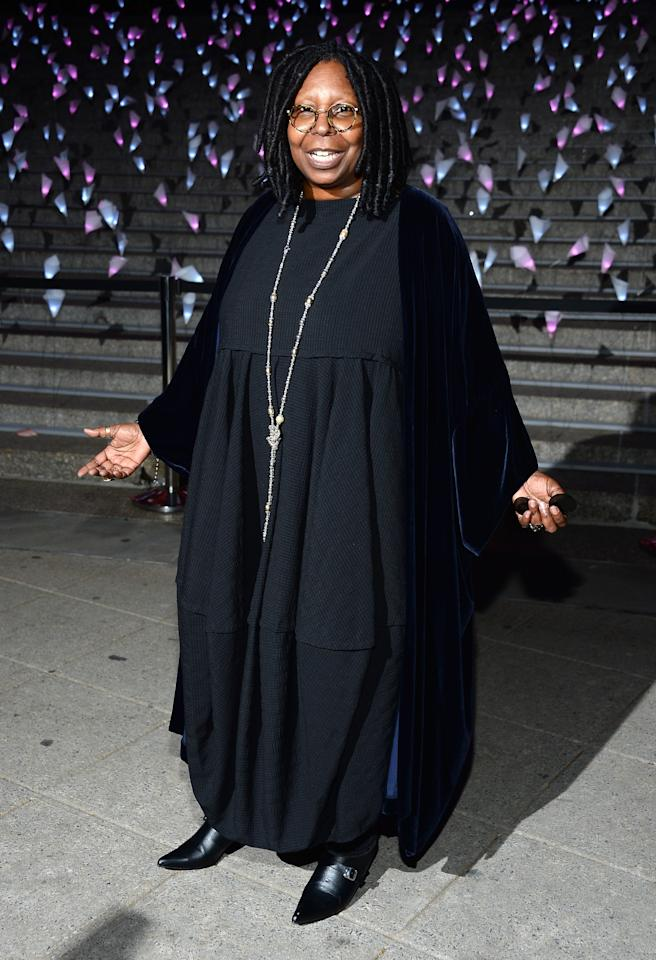 NEW YORK, NY - APRIL 16:  Whoopi Goldberg attends Vanity Fair Party for the 2013 Tribeca Film Festival on April 16, 2013 in New York City.  (Photo by Dimitrios Kambouris/Getty Images)