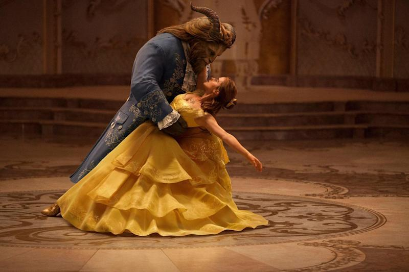 Star turn: Emma Watson in this year's Beauty and the Beast