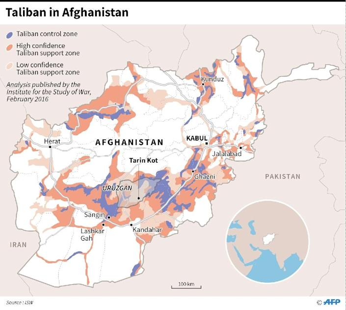Taliban in Afghanistan (AFP Photo/Adrian LEUNG)