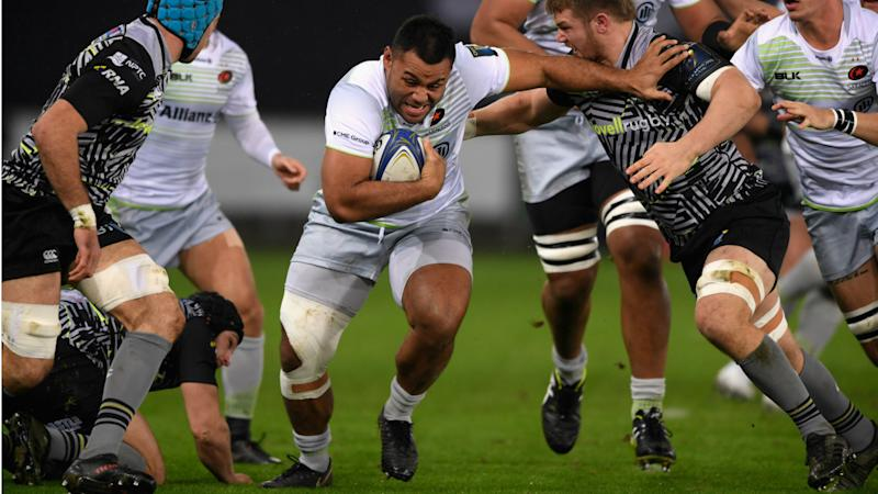 England's Billy Vunipola injured in Ospreys draw