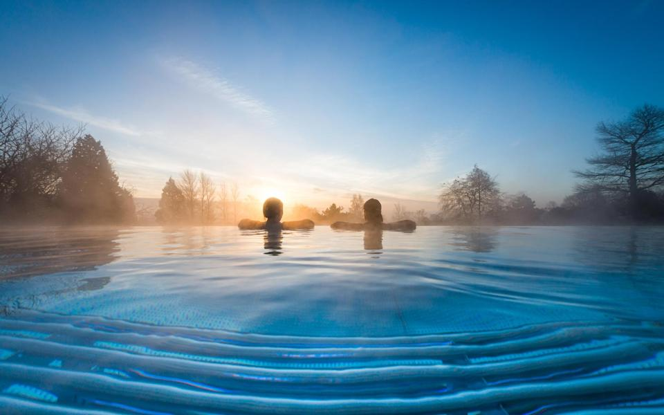 With its heated outdoor infinity pool overlooking the rolling Leicestershire countryside, Ragdale Hall is the ideal spa destination for those looking to kick back and relax
