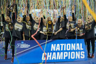 Best sport: women's gymnastics (national champion). Trajectory: down. The Sooners are sliding — not dramatically, but steadily. This is the third straight season of declining returns, dipping out of the Top 30 in 2018-19 — something that last happened in 2005-06. Oklahoma won it all in women's gymnastics but was upset for the title in both men's gymnastics and softball. Football was the school's only fall sport to score points.