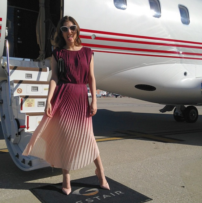 """<p>You say you wear sweatpants while you travel? Well, I'm sorry for you. <i>(Photo: <a rel=""""nofollow"""" href=""""https://www.instagram.com/p/2T7cYZqdYJ/?taken-by=annakendrick47"""">Instagram</a>)</i></p>"""