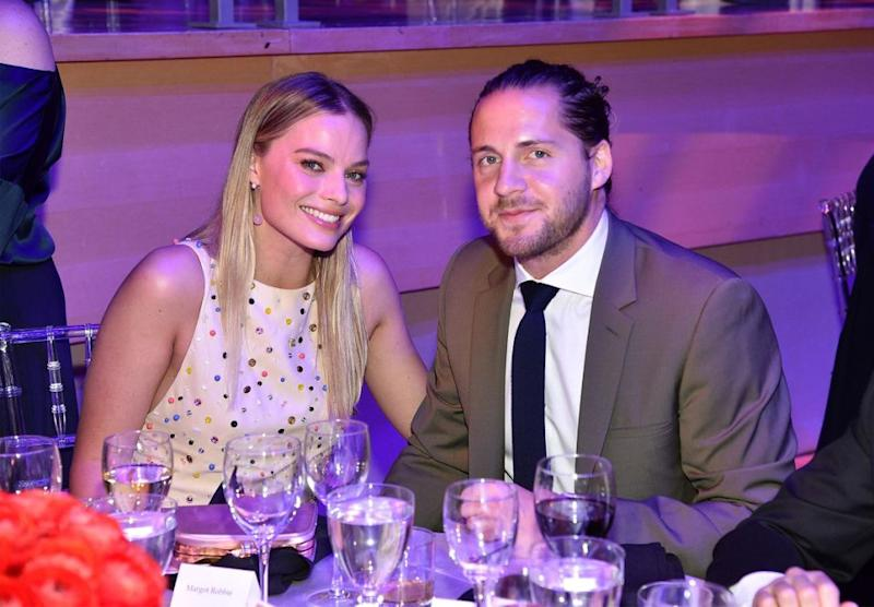 She's married to Tom Ackerley, seen here together in 2017. Source: Getty