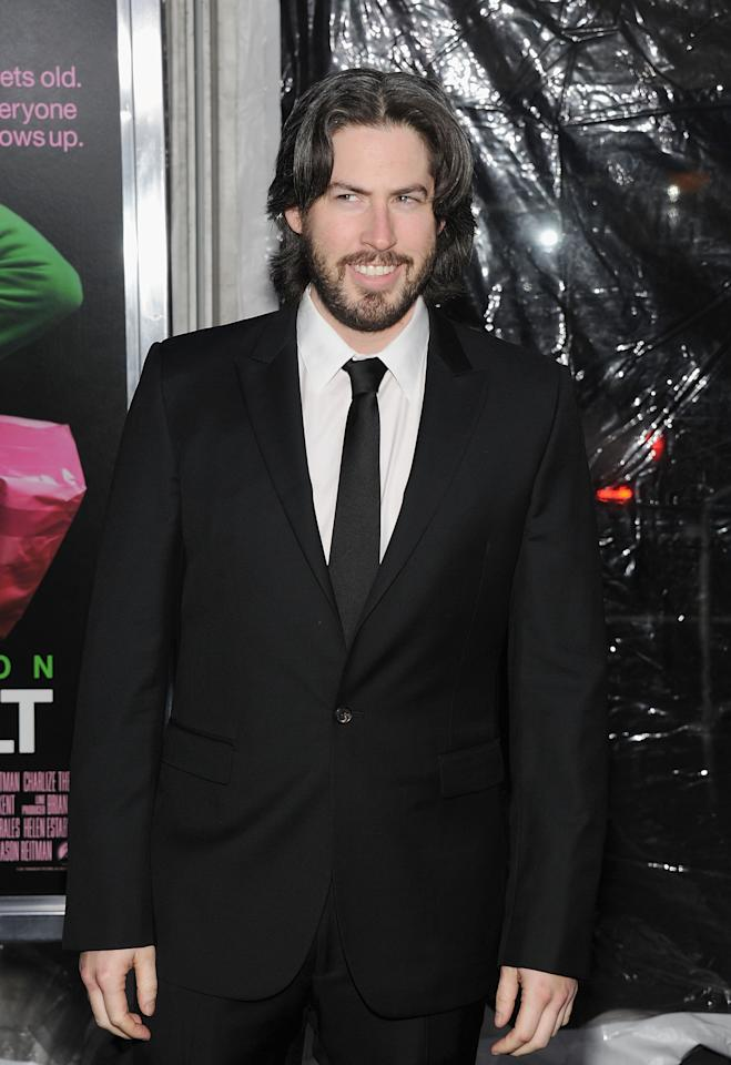 """NEW YORK, NY - DECEMBER 08:  Director/producer Jason Reitman attends the """"Young Adult"""" world premiere at the Ziegfeld Theatre on December 8, 2011 in New York City.  (Photo by Jamie McCarthy/Getty Images)"""