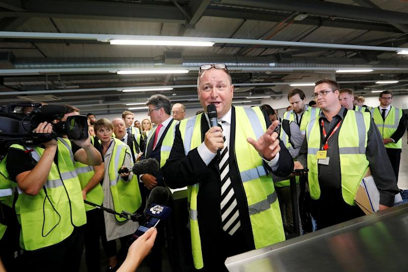 Mike Ashley, founder and majority shareholder of sportwear retailer Sports Direct: REUTERS