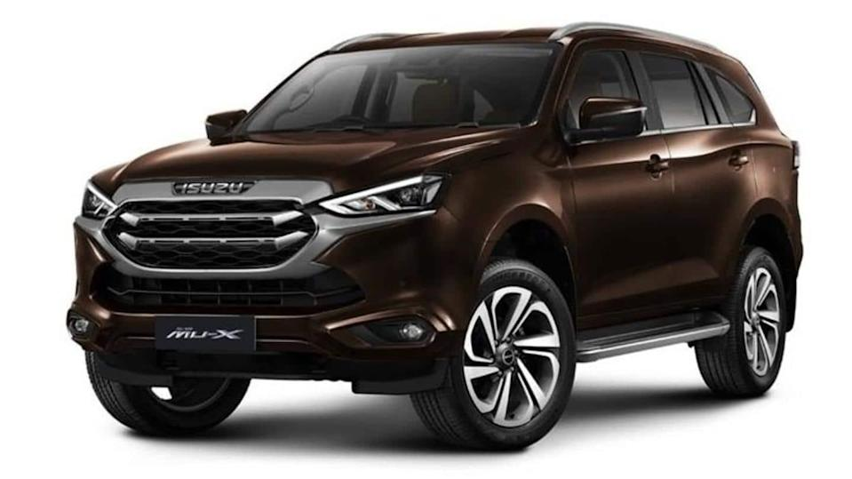 2020 Isuzu MU-X SUV with refreshed design launched in Thailand