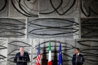 U.S. Secretary of State Pompeo visits Italy