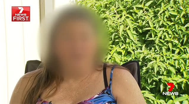Karen said she was left traumatised by the incident. Photo: 7 News