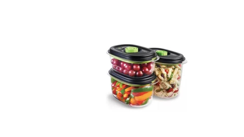 FoodSaver® Marinating Containers Set, 3-pc - Canadian Tire, $50