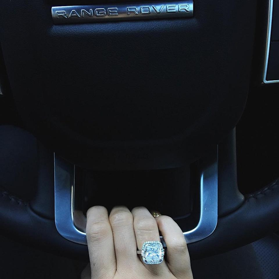 <p>Well, OK then. It's a good thing Kylie's got ten fingers for all those diamonds.</p>