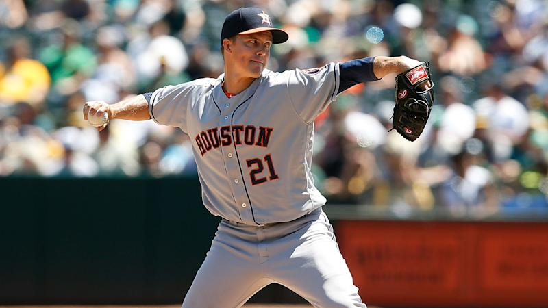 Greinke posts 200th MLB career win as Astros top Athletics