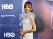 <p>Other presenters confirmed for the 2021 Oscars ceremony include Emmy Award winner Zendaya. (File photo/Star Max)</p>