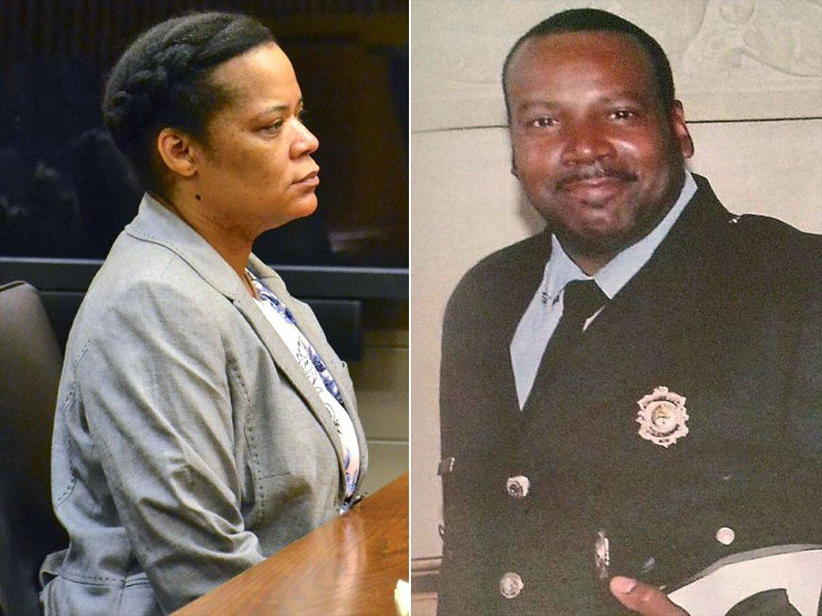 "Facing financial difficulties, 45-year-old <a href=""http://people.com/crime/newlywed-convicted-in-murder-for-hire-plot-firefighter-husband/"">Uloma Curry-Walker</a> (left) launched a scheme involving her 17-year-old daughter, her daughter's boyfriend and two other young men to kill her husband of four months, ""well-respected"" Cleveland firefighter William Walker (right). Prosecutors said she wanted Walker's $100,000 life insurance policy and had him fatally shot four times in their driveway in November 2013.  But the plan went awry: Walker hadn't changed the name of the beneficiary on his policy from his ex-wife, so Curry-Walker did not receive the money. Then the four others involved in the murder, including her daughter, pleaded guilty and testified against her. On July 8, she was convicted of aggravated murder and other charges. (Her attorney has disputed the prosecution's theory of the crime and said they will appeal.)  She faces life in prison without parole."