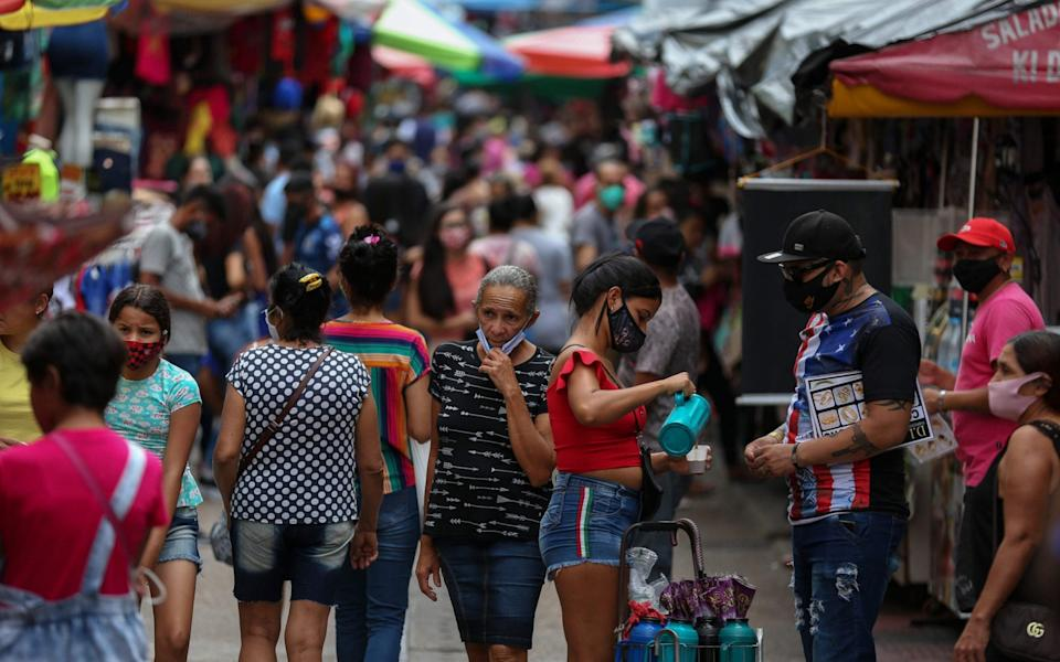 The Brazilian city of Manaus, which was devastated by the coronavirus pandemic, may have suffered so many infections its population now benefits from herd immunity.