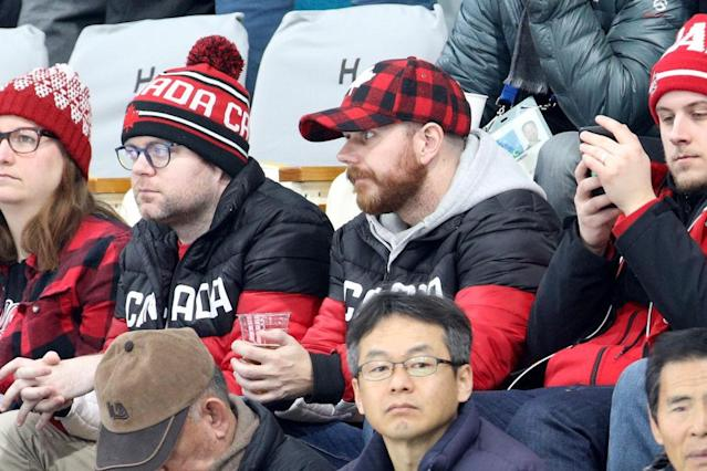 Canadian fans are less than pleased with this turn of events. (Getty)