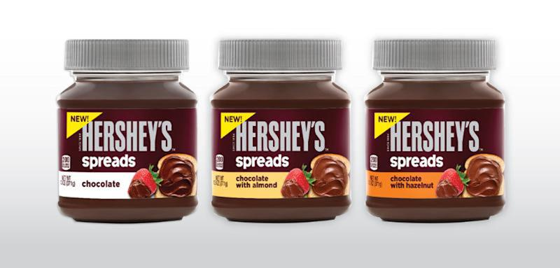 Hershey takes on fast-growing Nutella