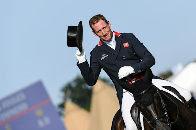 Oliver Townend is sitting pretty at Burghley. Pic: Peter Nixon
