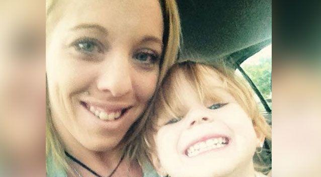 Natasha Macgegor discovered her daughter had a tumour on her pelvic floor. Photo: Supplied