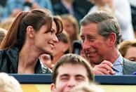Who knows how impressed Shania Twain was when she met Prince Charles during the Party in the Park in aid of The Princes' Trust in Hyde Park in July 1999. (Stefan Rousseau/AFP)